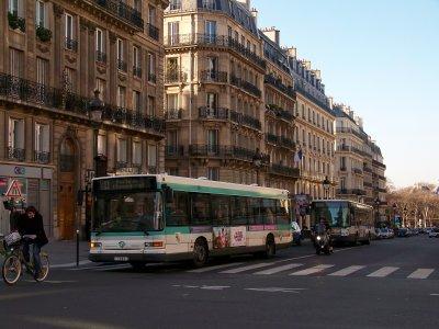 RATP ligne 84 14/01/2012