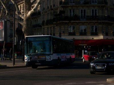 RATP ligne 89 14/01/2012