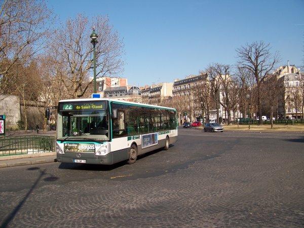 RATP Paris 9 mars 2012