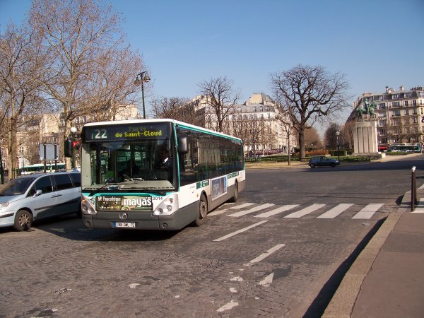 RATP Paris 9 mars 2012