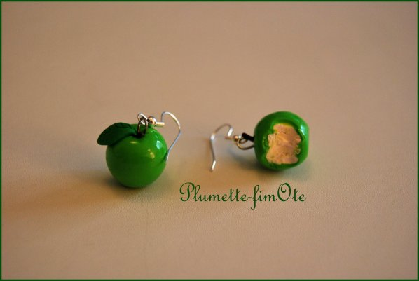BO Candice: petites pommes vertes