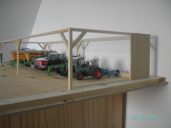 mon new hangar en cour de construction