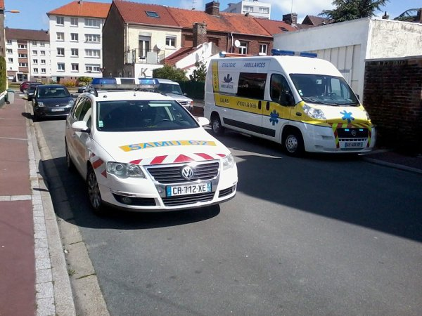 smur calais assu coulogne ambulances