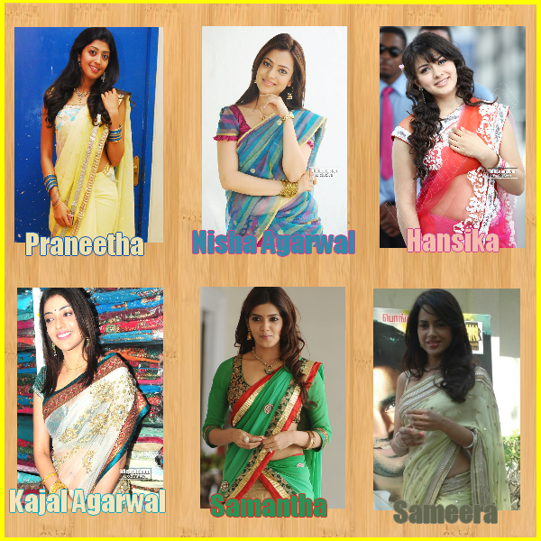 Who is the best in Saree?