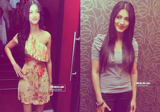 Actress Shruthi Hassan Dressing Style