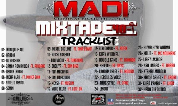 Mixtap - ALIF 40 - MADI