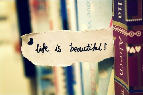 Life is ... beautiful ?