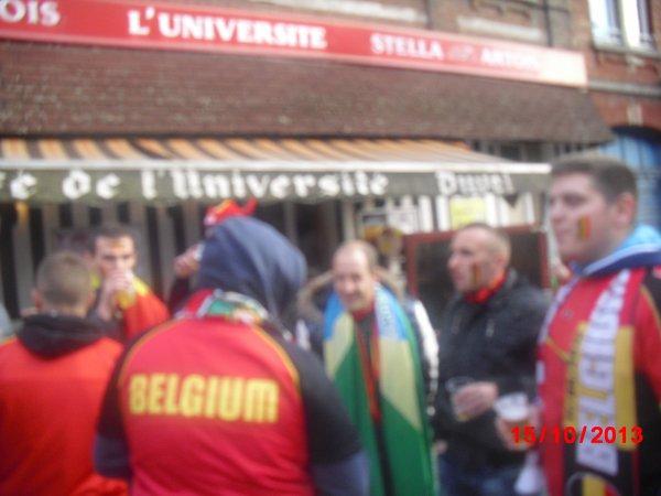 Belgique - Pays de galles