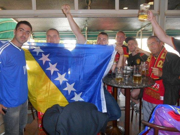 Bosnie - Belgique