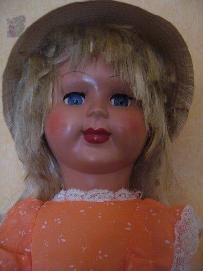 Belle poupée Bi-matière inconnue