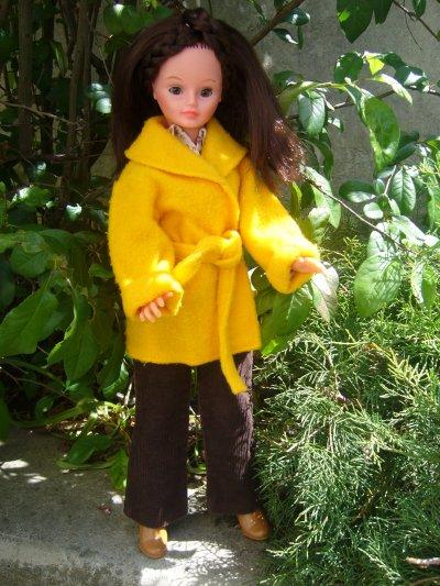 Cathie de Bella brune 48 cm