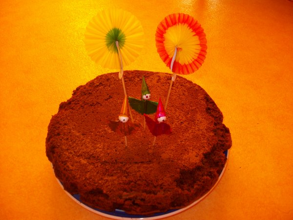Aujourd'hui gâteau au chocolat pour le gouté