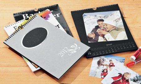 2 calendriers 2012 a personnalise soit même pour 2 euros 99 a LIDL