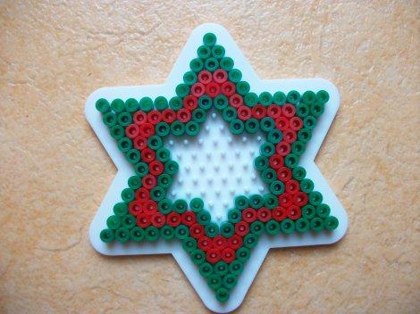 Rond de serviette étoile