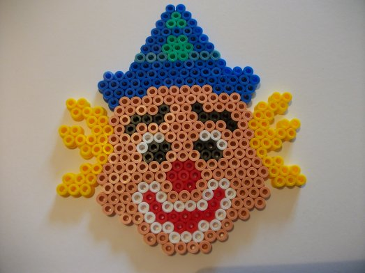 Perle Hama clown