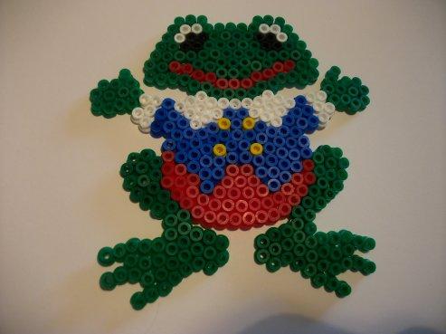 une petite grenouille mâle 2