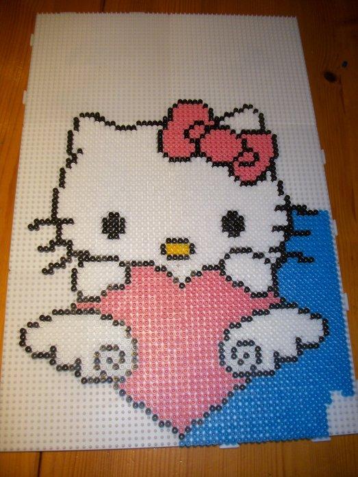 Perle Hama  Hello kitty partie 2