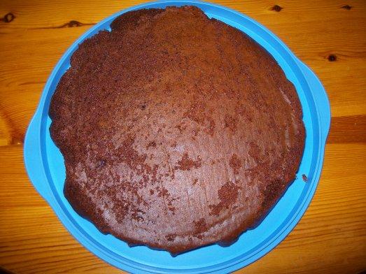 Gâteau au chocolat et lait concentré sucré