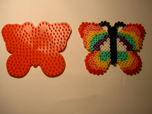Perle Hama papillon