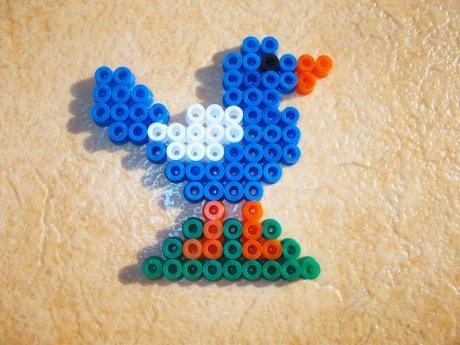 Perle Hama oiseau
