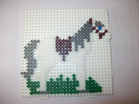 Perle Hama cheval 2