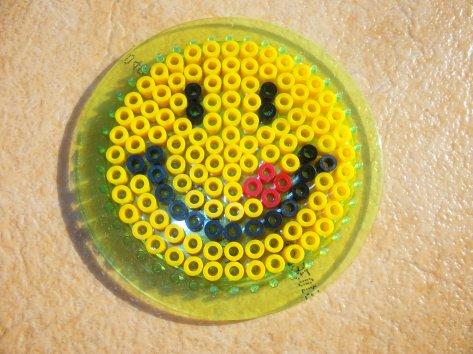 Perle Hama petit sourire