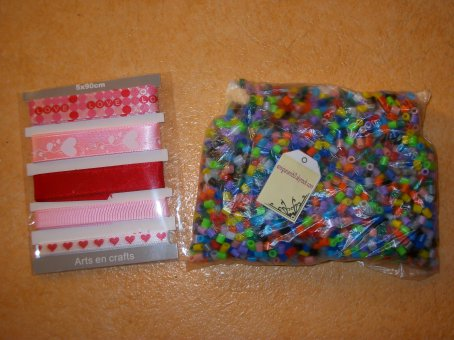 Voici ce que j'ai reçu de la part de mon amie amigurumi60