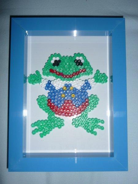 une petite grenouille mâle 3