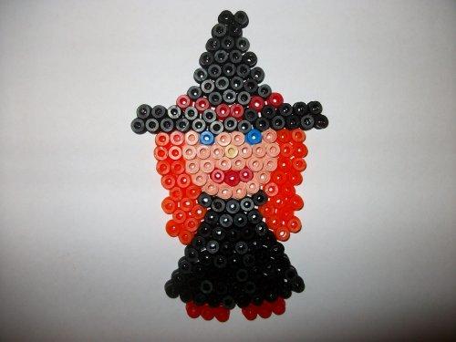 petite sorcière 3 en perle hama