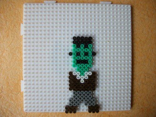 Frankenstein en perle hama