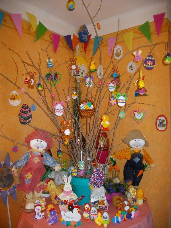 Voici ma petite décoration pour pâque en 2013