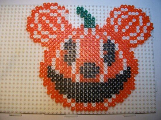 Citrouille avec les oreilles  de Mickey