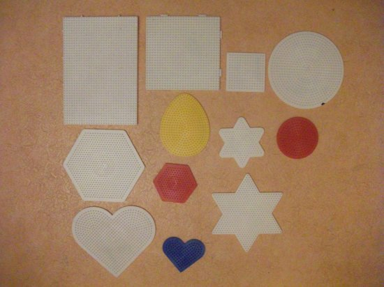 matériels pour perles Hama ou perles a repasser