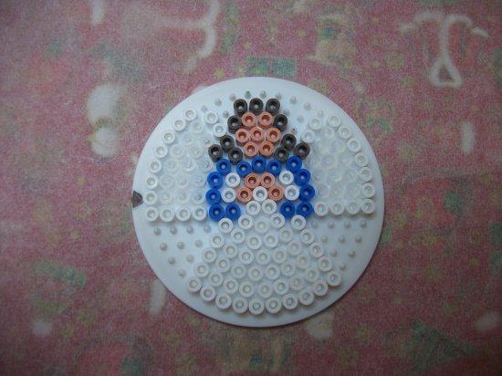 Bonhomme de neige + ange en perles hama