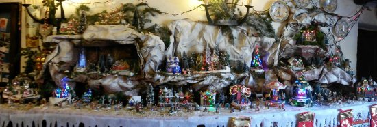 Village de Noel chez mes parents
