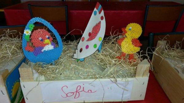 Pâque : voici les créations des enfants