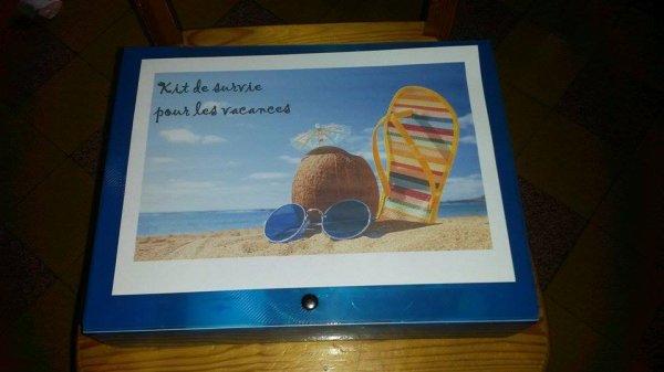 kit de survie pour les vacances pour les enseignants