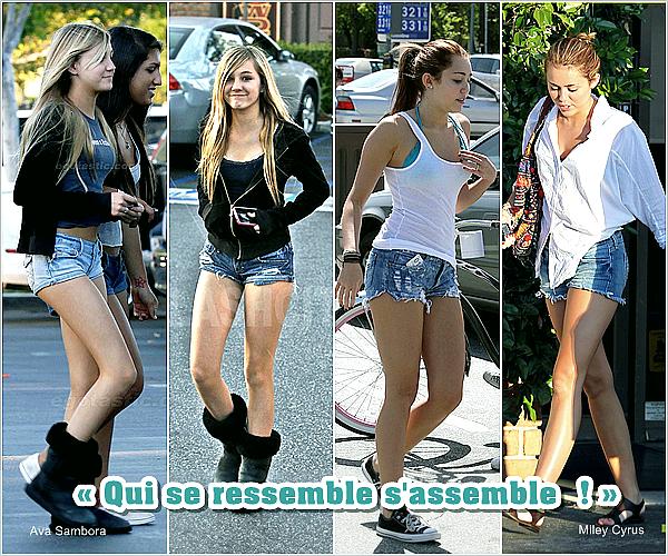 miley-source.skyrock.com  Ava Sambaro ( Mannequin ) . « J'adore Miley Cyrus, j'aime vraiment tout chez elle – j'adorerais jouer à ses côtés. Elle est mon plus grand modèle, juste après mon père.» Fille du rockeur R. Sambora miley-source.skyrock.com