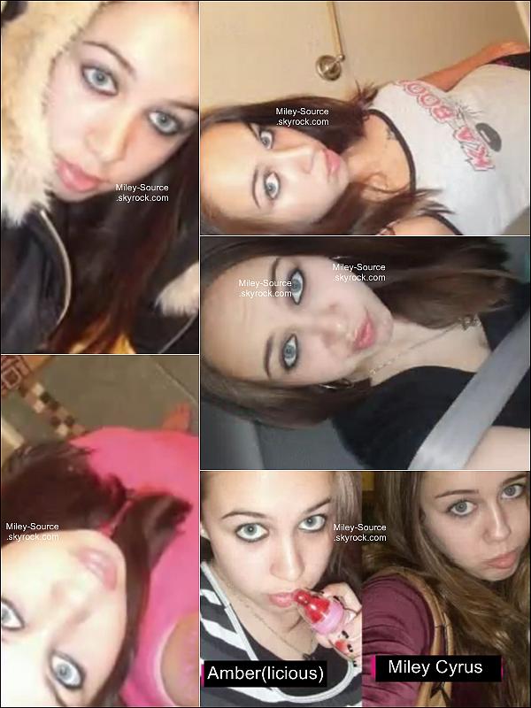 En exclu sur Miley-Source : Découvre le sosie de Miley Cyrus . Elle s'appelle Amber , elle vit aux Etats Unis . Amber a accepté via Myspace que je diffuse ses photos sur MON blog . Tu trouves qu'elle lui ressemble ? Pourquoi ?