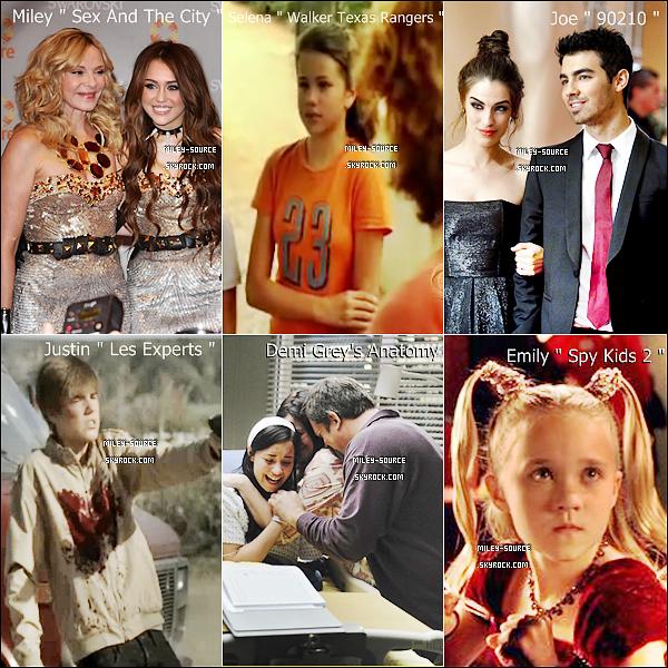 Elles/Ils ont quasiment tous jouer dans un(e) série/film connu ! Qu'elle rôle préféres-tu? Perso : Celui de Demi Lovato