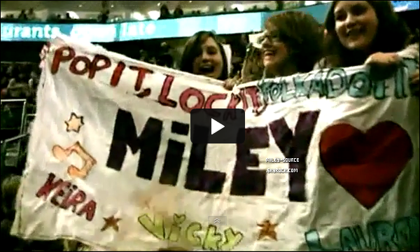 LA VIDEO DU PROJET « FRANCE WANTS MILEY » !