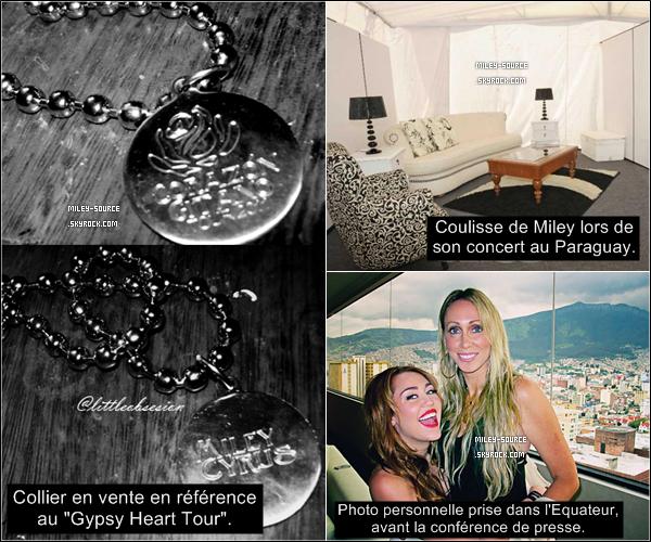 _ 4 MAI 2011_____Miley a rencontrée ses fans au Chili mercredi dernier. Retrouvez aussi de nouvelles photos. _