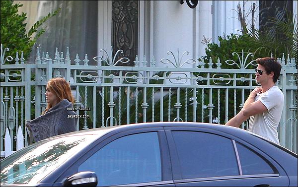 09.06.11 | ENFIN des news de M.C ! La belle a été aperçu devant chez son petit ami avec lui même à B. Hills.