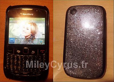 Tente de remporter un blackberry d'occasion sur MileyCyrus.fr