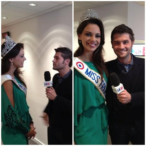 10 decembre 2012 miss france etait a europe 1