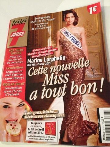 14 decembre 2012 miss france 2013 chez cauet