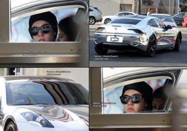 Le 6 avril,Selena & Justin sont allés chercher à manger au Chick-fil-A de Los Angeles
