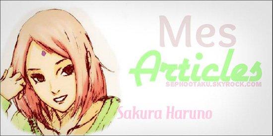 Page d'accueil de Naruto Shippuden