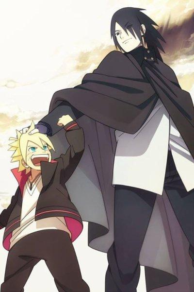 Sasuke et Bolt