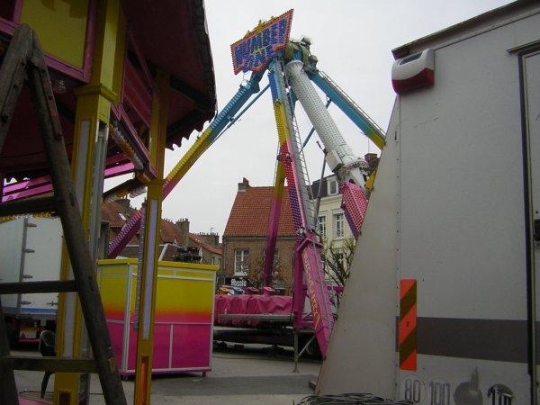 Montage foire de Bergues 2011